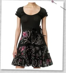 Odd_ Molly_35_Pointell_me_dress_almost_black